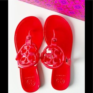 Tory Burch Jelly Sandals. Size 7 NOWT